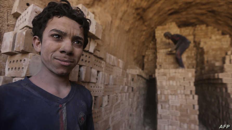أحد عمال معمل طابوق النهروان شرقي بغداد