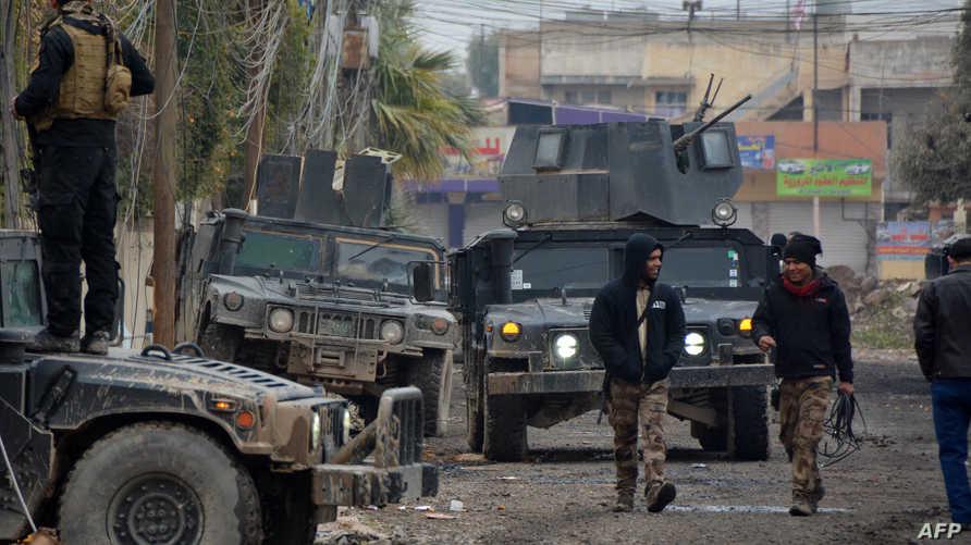 قوات عراقية شرق الموصل