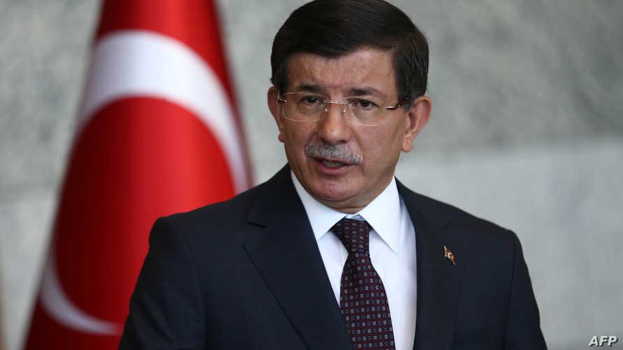 رئيس الوزراء التركي أحمد داوود أوغلو