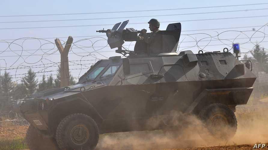 استنفار عسكري تركي على الحدود السورية