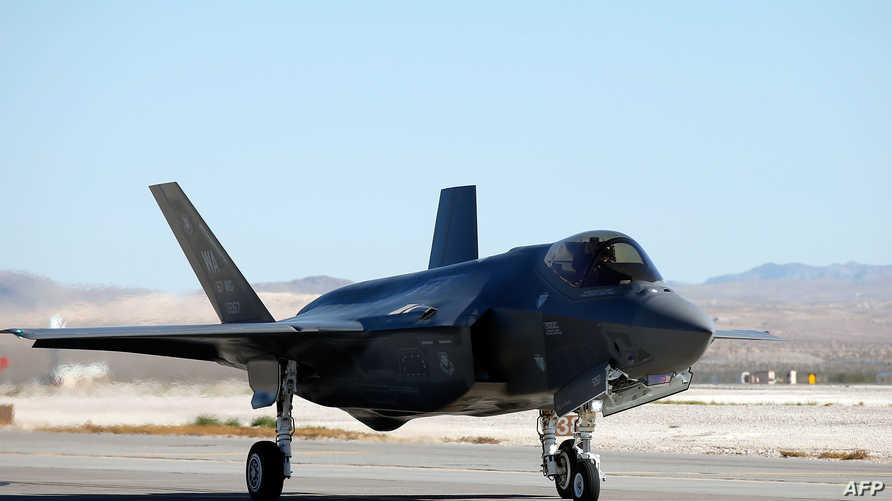 مقاتلة أميركية من طراز F-35، أرشيف