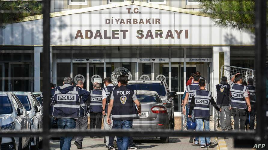 عناصر في الشرطة التركية- أرشيف