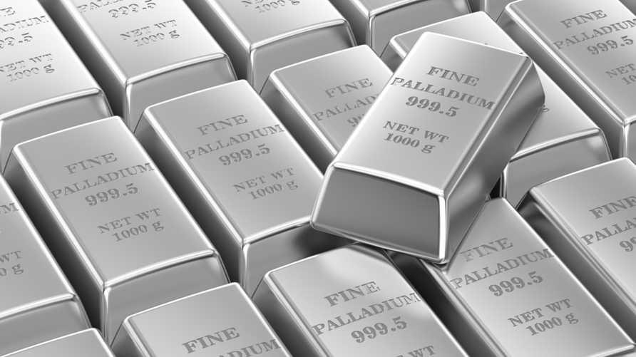 معدن البلاديوم أصبح أغلى من الذهب