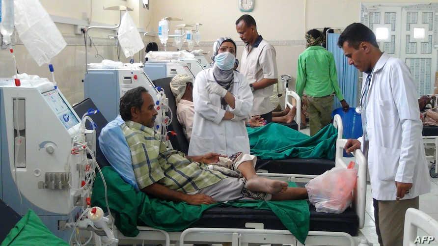 داخل أحد المستشفيات اليمنية