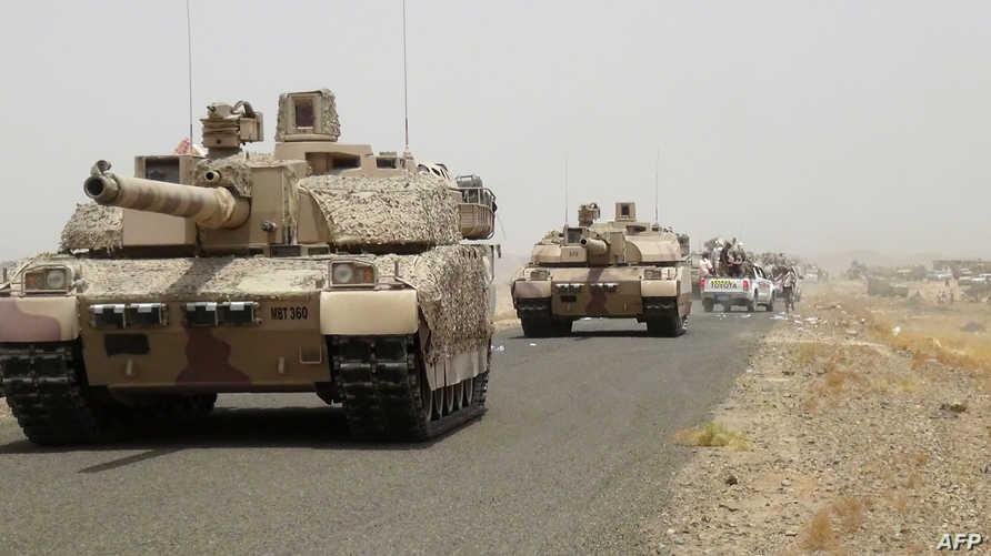 قوات تابعة للرئيس اليمني عبد ربه منصور هادي