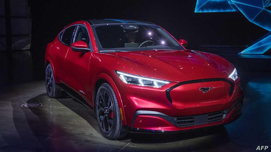 سيارة موستانغ ماتش إيه الكهربائية من فورد