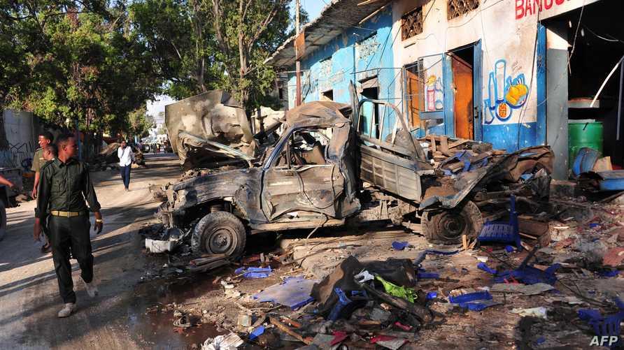 مخلفات هجوم في مقديشو، أرشيف