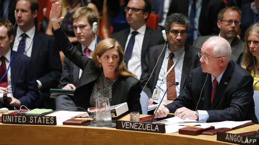 مندوبة الولايات المتحدة لدى الأمم المتحدة سامانثا باور