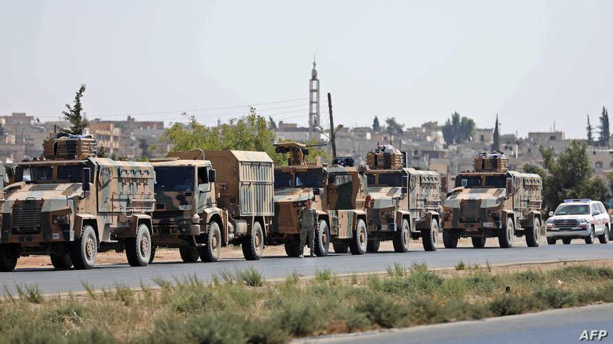 قوات تركية في سورية - أرشيف