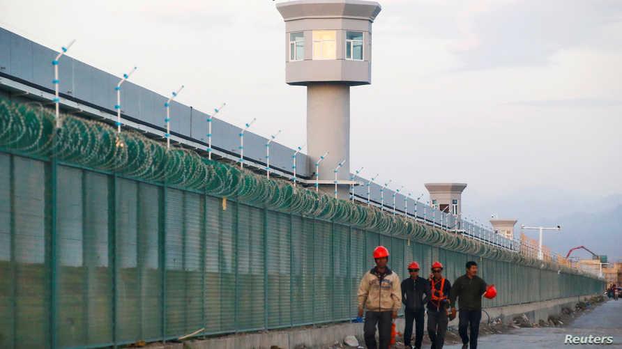"""صور لما يعتقد أنه مركز """"اعتقال"""" في الصين يحتجز به أشخاص ينتمون إلى أقلية الأويغور"""