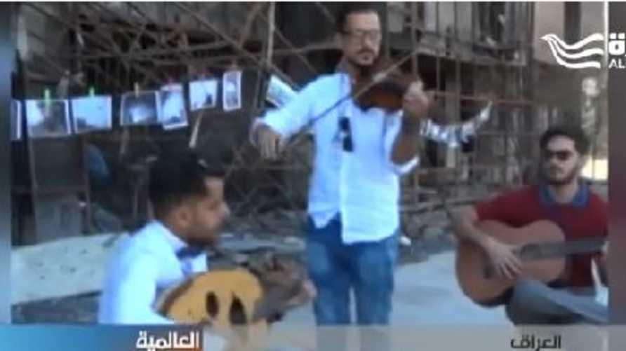 عزف موسيقي في الموصل