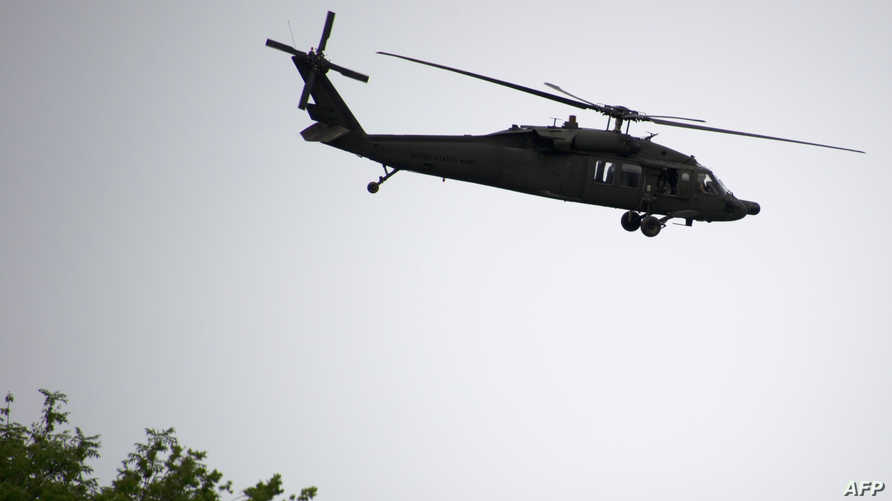 مروحية أميركية من طراز UH-60A (بلاك هوك)
