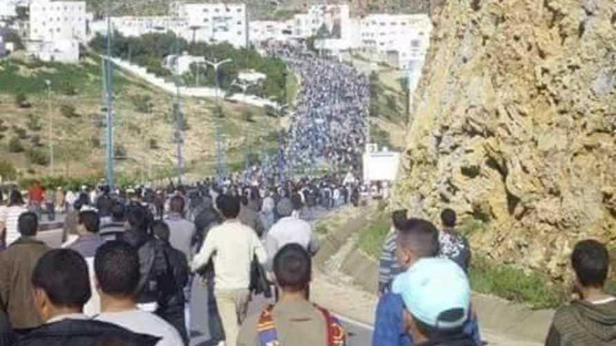 احتجاجات في الحسيمة بعد وفاة الشاب محسن فكري