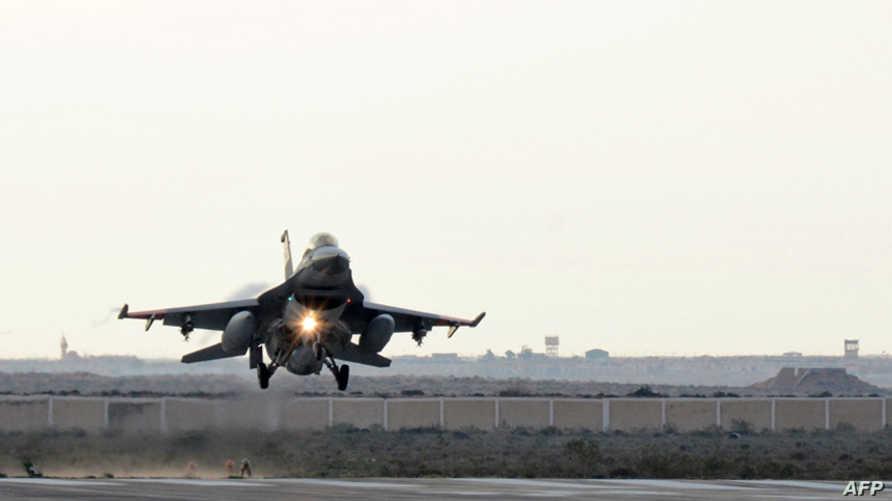 مقاتلة مصرية نفذت عملية ضد داعش في ليبيا