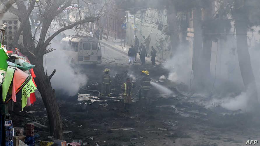تفجير سابق في كابل - أرشيف