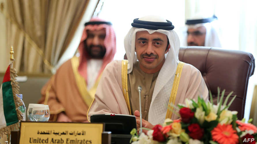 وزير الخارجية الإماراتي- آرشيف