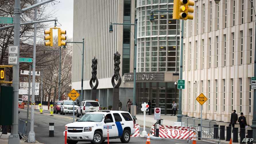 أمام محكمة في نيويورك
