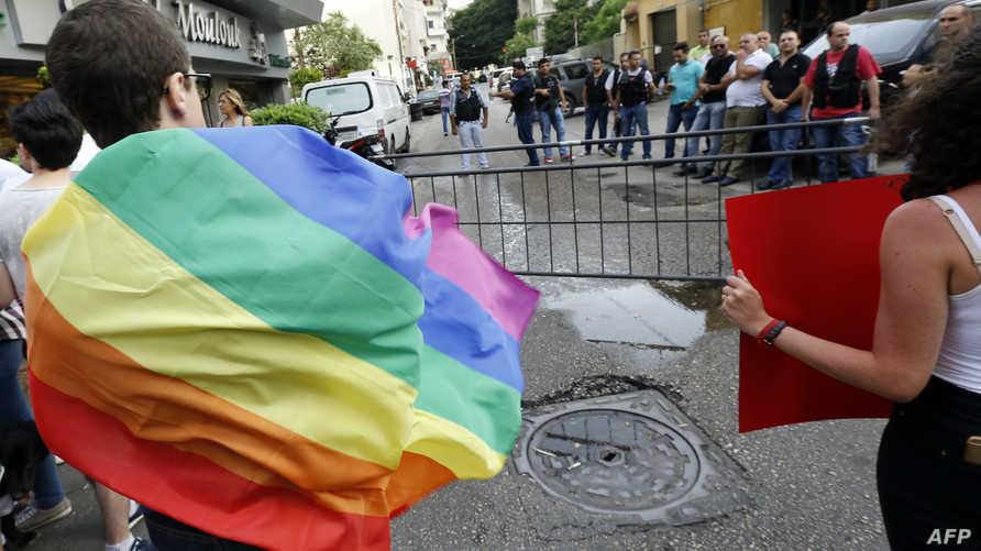 ناشطون لبنانيون يدافعون عن حقوق المثليين في لبنان