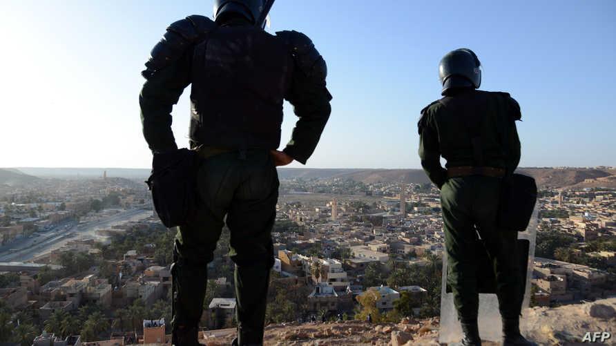 قوات جزائرية في غرداية