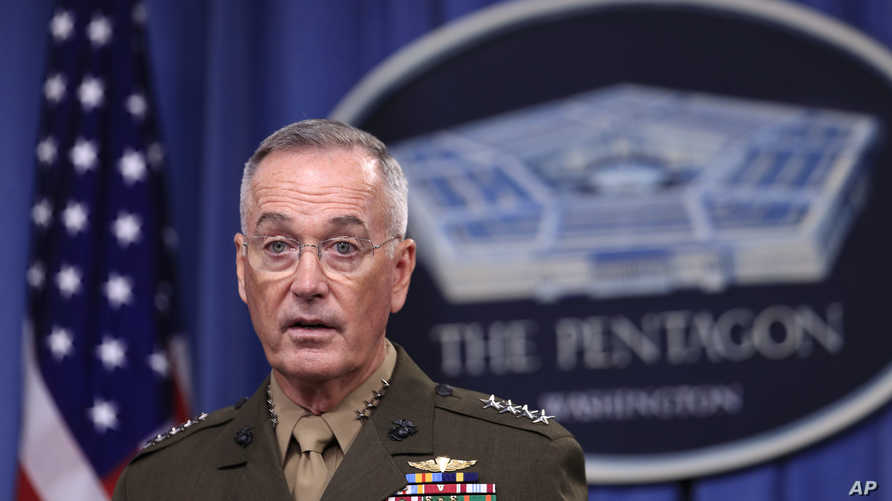 رئيس هيئة أركان القوات المسلحة الأميركية الجنرال جوزيف دانفورد