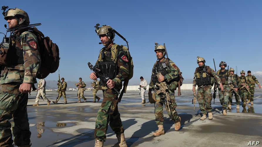 قوات أفغانية في قندوز -أرشيف