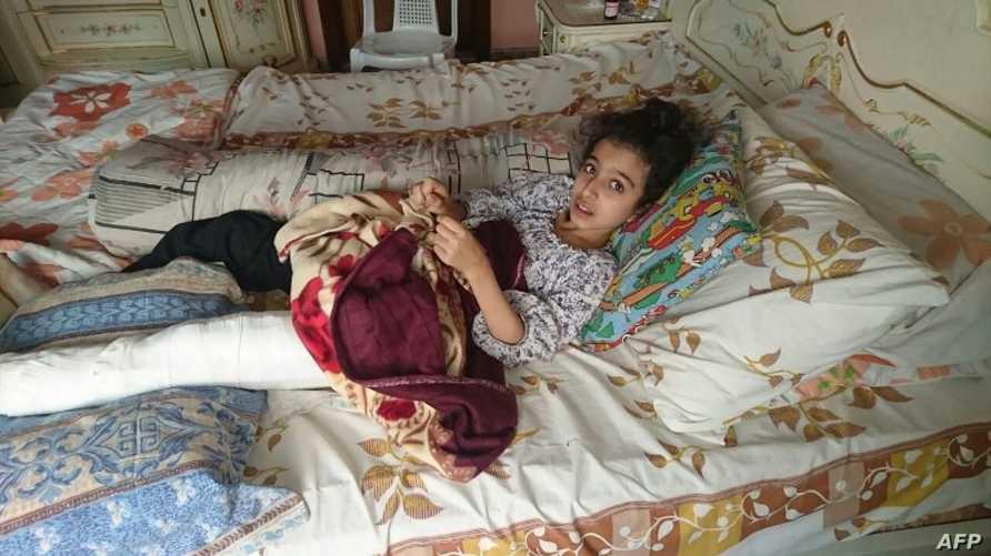 الطفلة السورية غنى