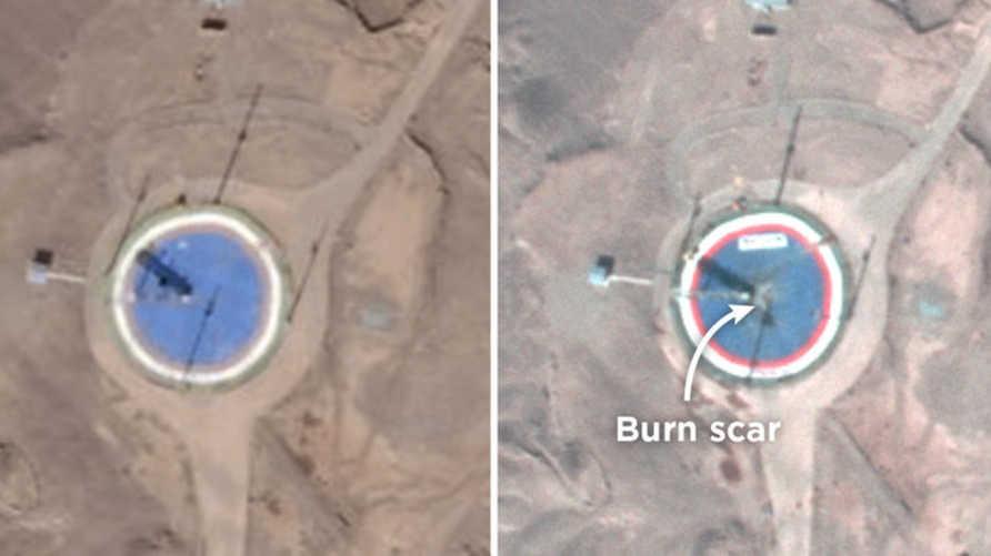 محاولة إيرانية أخرى لإطلاق قمر صناعي