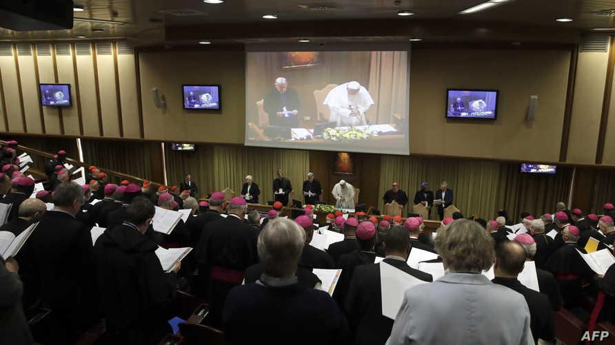 جانب من قمة الفاتيكان حول الانتهاكات الجنسية