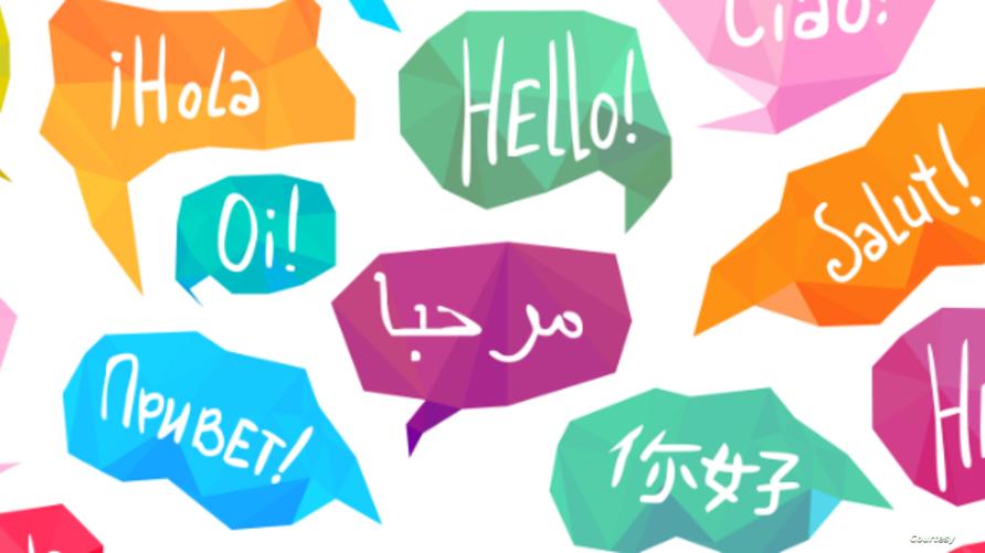 اللغة تسمح بالعديد من الأنشطة الاجتماعية المختلفة