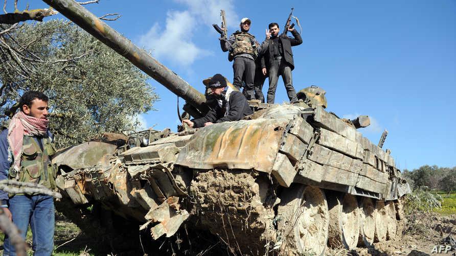 مقاتلون أجانب في سورية- أرشيف