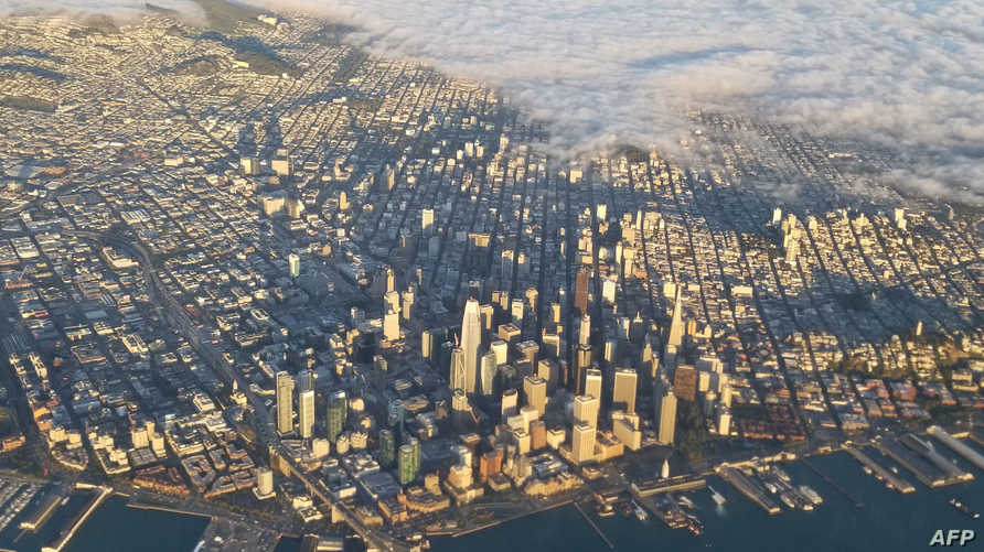 سان فرانسيسكو من الجو
