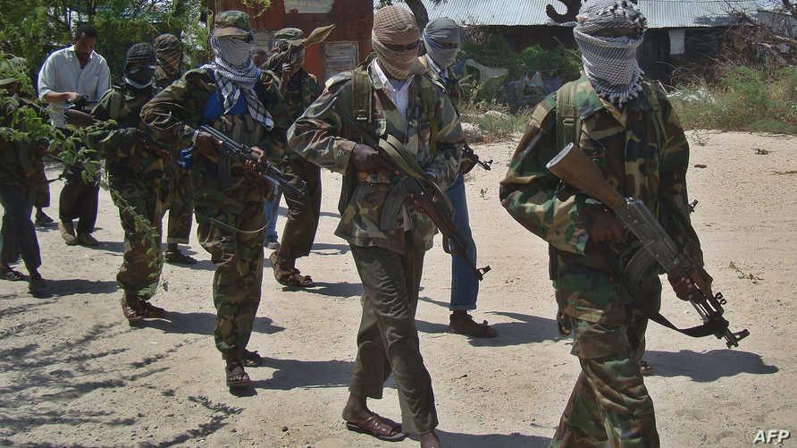 عناصر في حركة الشباب الصومالية