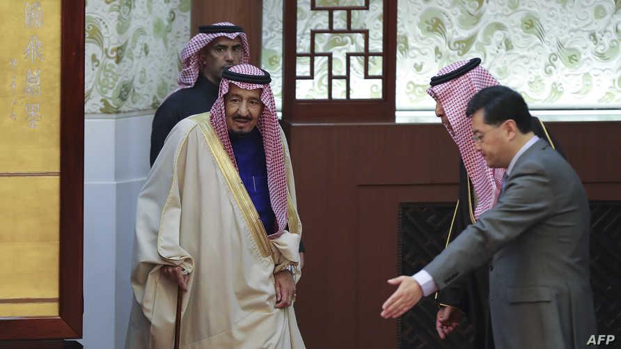 أبرم الملك السعودي في زيارته الأخيرة للصين صفقات بقيمة 65 مليار دولار (أرشيف)