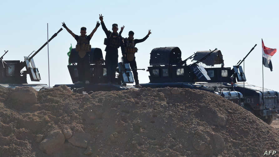 قوات عراقية تستعيد السيطرة على جبال حمرين في محافظة ديالى