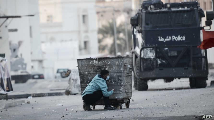مواجهات في البحرين بين المحتجين وقوات الأمن -أرشيف