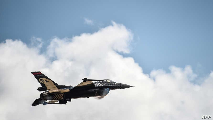 مقاتلة تركية من طراز أف 16