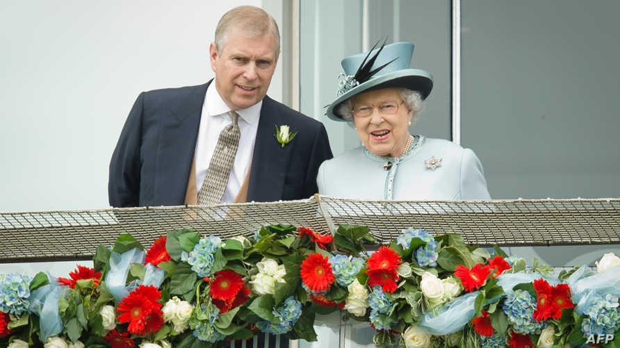 الأمير أندرو هو الابن الثاني للملكة إليزابيث الثانية