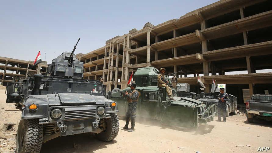 قوات عراقية في الفلوجة