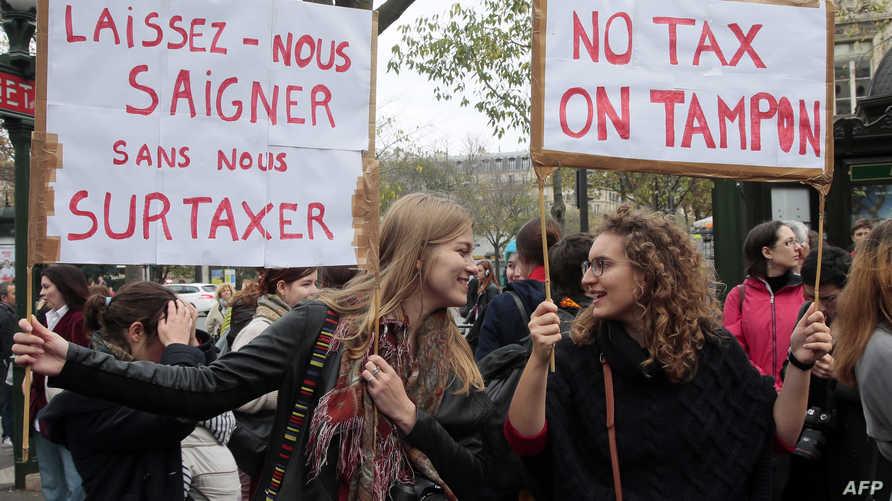 احتجاجات ضد رفع الضرائب في باريس