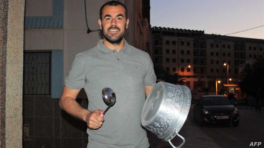 """قائد """"حراك الريف"""" في المغرب ناصر الزفزافي - أرشيف"""