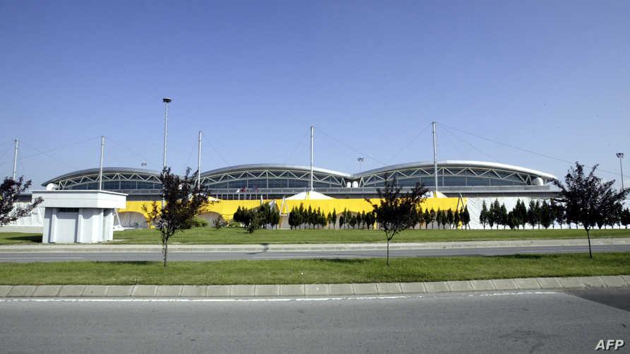 جانب من مطار صبيحة غوكتشان في إسطنبول