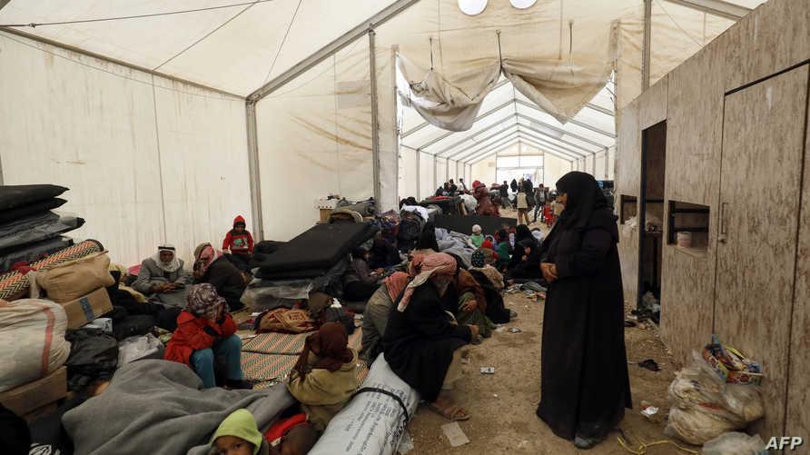 نازحون سوريون في الحسكة