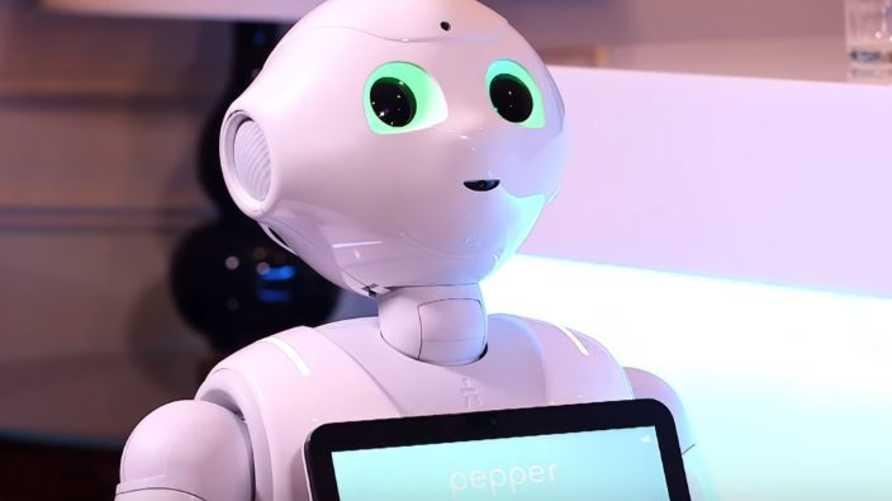روبوت بيبر الموجه لمساعدة كبار السن
