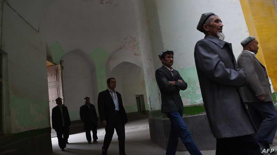 مجموعة من أقلية الأويغور المسلمين في الصين