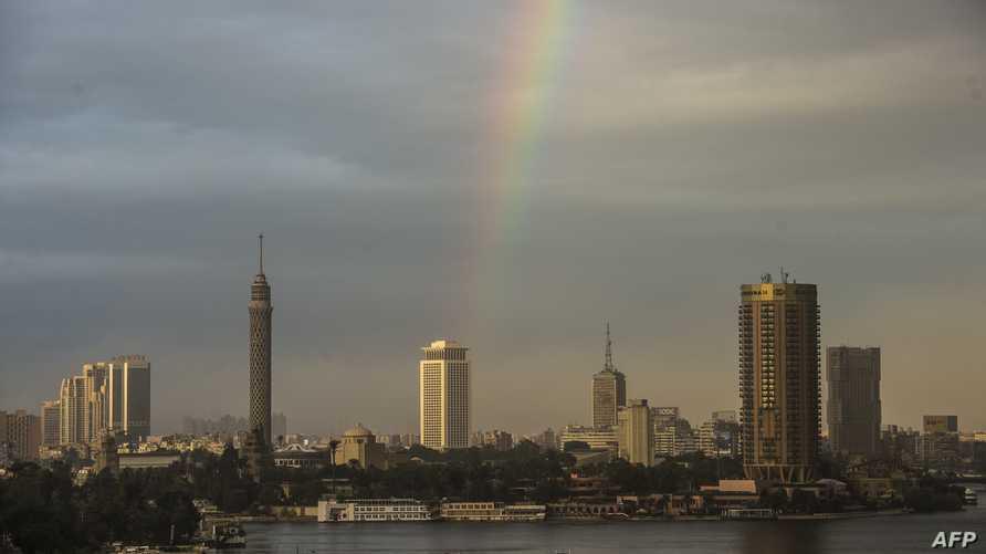 مشهد عام للعاصمة المصرية القاهرة