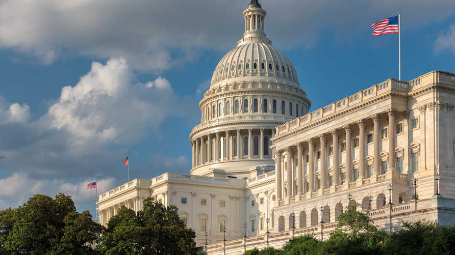 مبنى الكونغرس حيث يلقي الرئيس خطاب حال الاتحاد