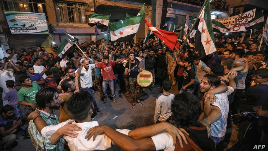 عادت تظاهرات المدنيين المعارضين للنظام السوري إلى شوارع إدلب في الفترة الأخيرة
