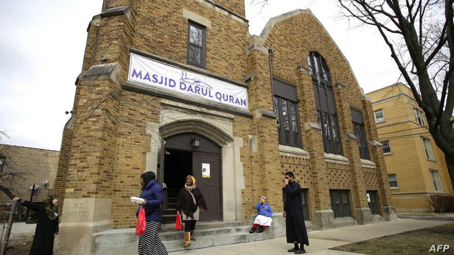 أحد المساجد في شيكاغو