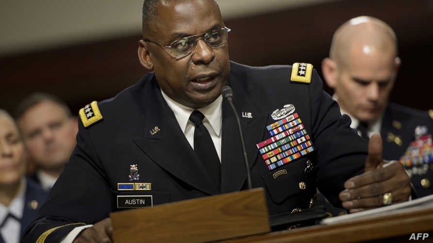 قائد القيادة المركزية الأميركية الجنرال لويد أوستن أمام لجنة القوات المسلحة في مجلس الشيوخ