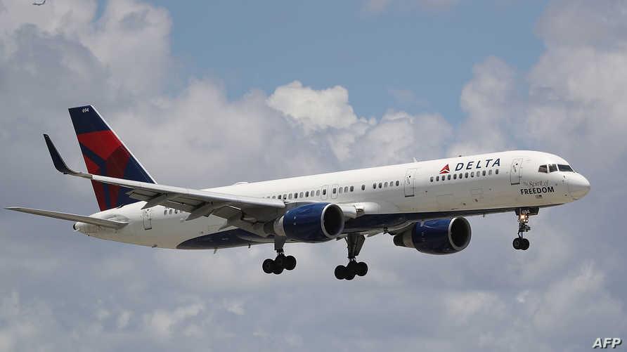 طائرة تابعة لشركة دلتا للطيران